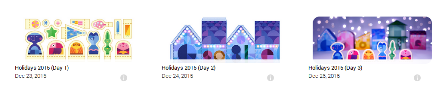 Google Holiday Doodles 2015