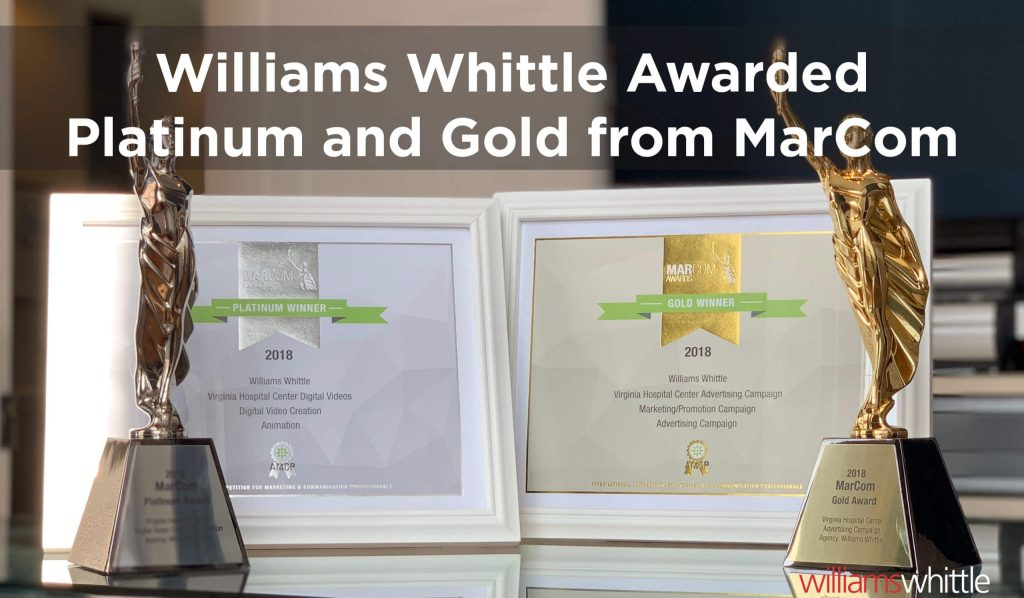 Williams Whittle Awarded Platinum and Gold from MarCom