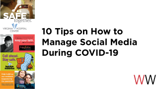 Collection of COVID-19 related marketing materials