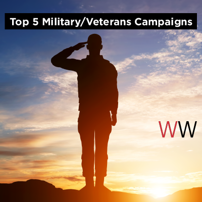 Top 5 Military/Veterans Campaigns