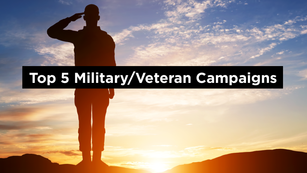 Top 5 Military Veterans Campaigns